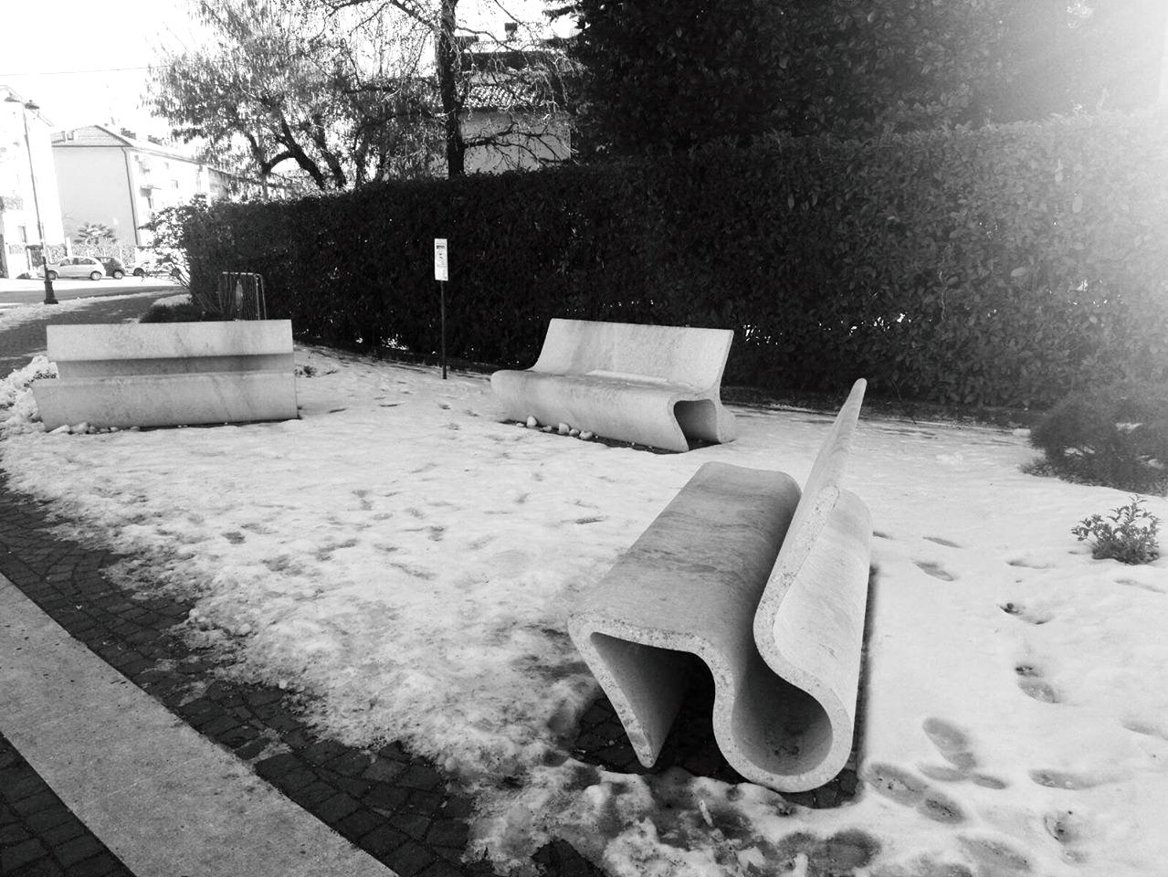 bancs neige